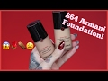ARMANI Power Fabric FOUNDATION.... Is It Jeffree Star Approved???
