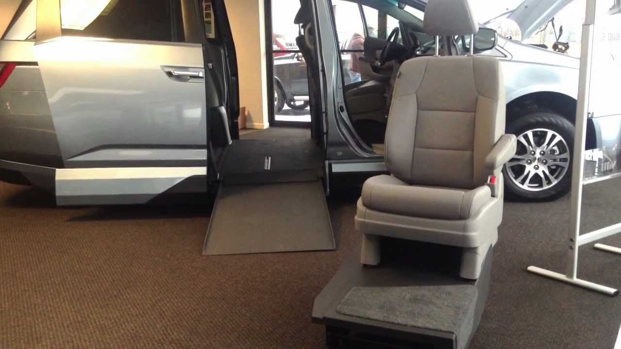 honda odyssey adaptive transfer seat base wheelchair van vmi northstar new england mobility. Black Bedroom Furniture Sets. Home Design Ideas