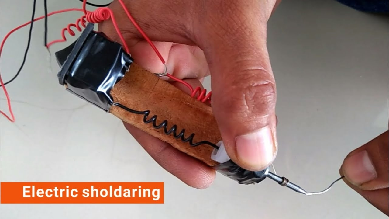 how to use soldering iron youtube