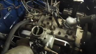 Заводим ГАЗ М20 Победа после ремонта на горячую. Обзор работы двигателя