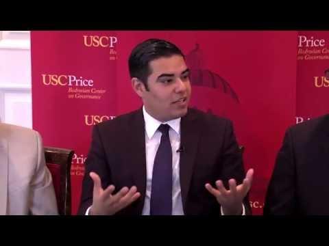 USC Price School of Public Policy presents Mayor Robert Garcia