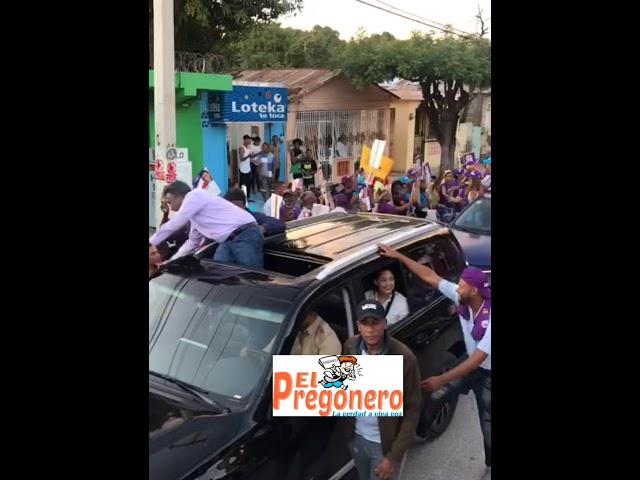 Félix Bautista participó en caravana que encabezó Gonzalo en San Juan