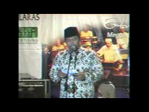 KH Nuril Huda gus huda Malam Dhikir & Do'a Bersama ,Satukan Hati Untuk Ngri Bersama Emha Ainun Najib