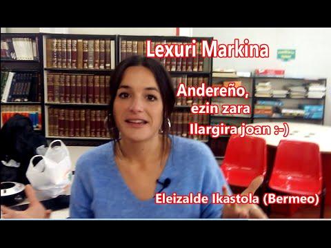 Lexuri Markina (Eleizalde Ikastola, Bermeo). Andereño, ezin zara Ilargira joan