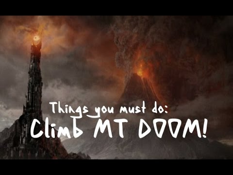 New Zealand's Must See Locations! Climb MT DOOM!