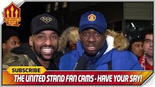 SOLSKJAER GOT US BACK! Arsenal 1-3 Manchester United FanCam