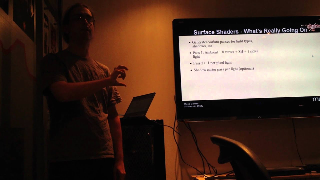 NYC Indie Games Group Meetup Nov - Alex's Presentation on Working with  Shaders in Unity Development