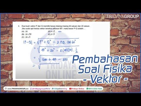 Vektor, Pembahasan Soal Fisika Tentang Vektor