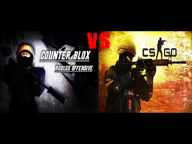 CS:GO vs Roblox Counter Blox