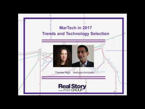[Webinar ] Trends in Marketing Technology for 2017