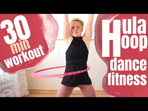 30 Min Weighted Hula Hoop Basics Workout For Weight Loss | Burn Fat, Get Lean and Dance