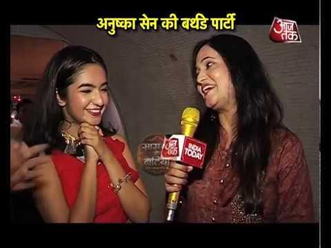 Birthday Bash of Meher aka Anushka Sen
