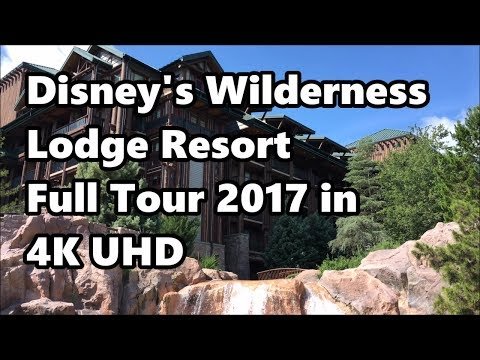 Disney's Wilderness Lodge Resort | Full Tour 2017 in 4K UHD | Walt Disney World