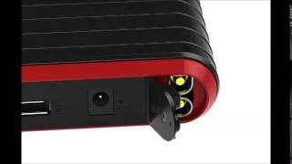Best Price PowerAll PBJS12000R Rosso Red/Black Portable Power Bank Free Shipping