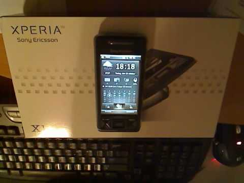 Sony Ericsson Xperia X1 with windows mobile voice command 1.6!