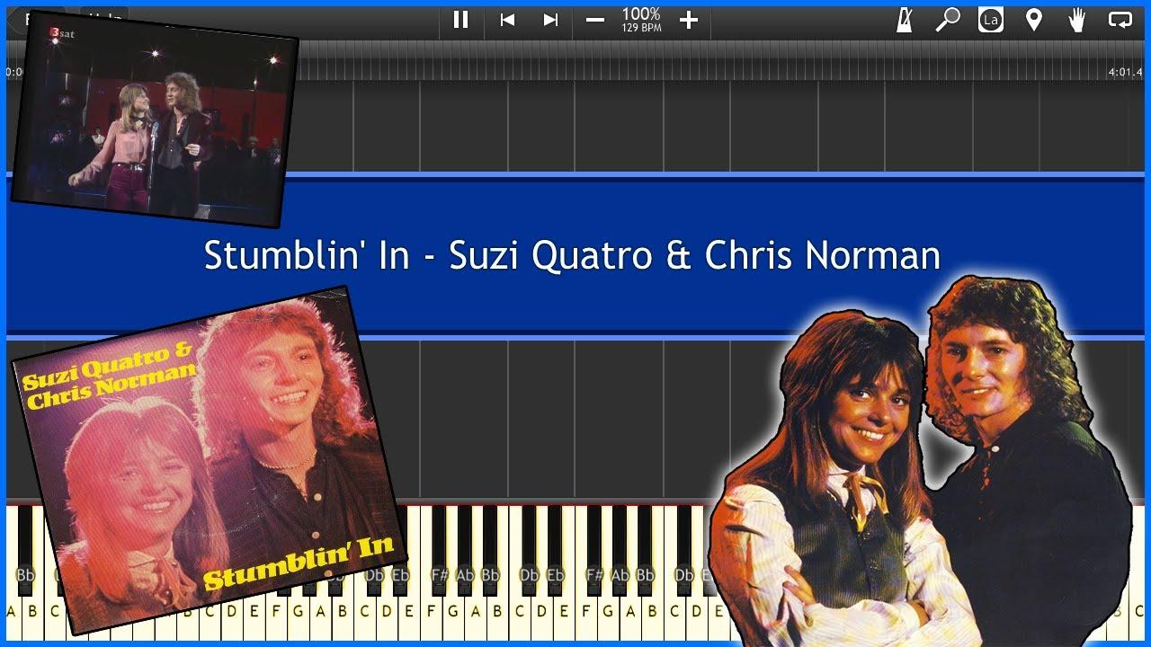 Stumblin In Suzi Quatro Chris Norman Synthesia Tutorial Instrumental Video Download Youtube