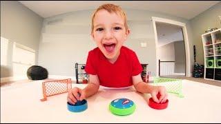 Baixar Father & Son PLAY AIR HOCKEY GAME! / So Much Fun!