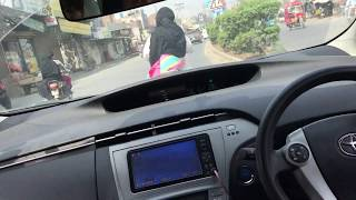 Toyota prius Crazy mad driving in Faisalabad