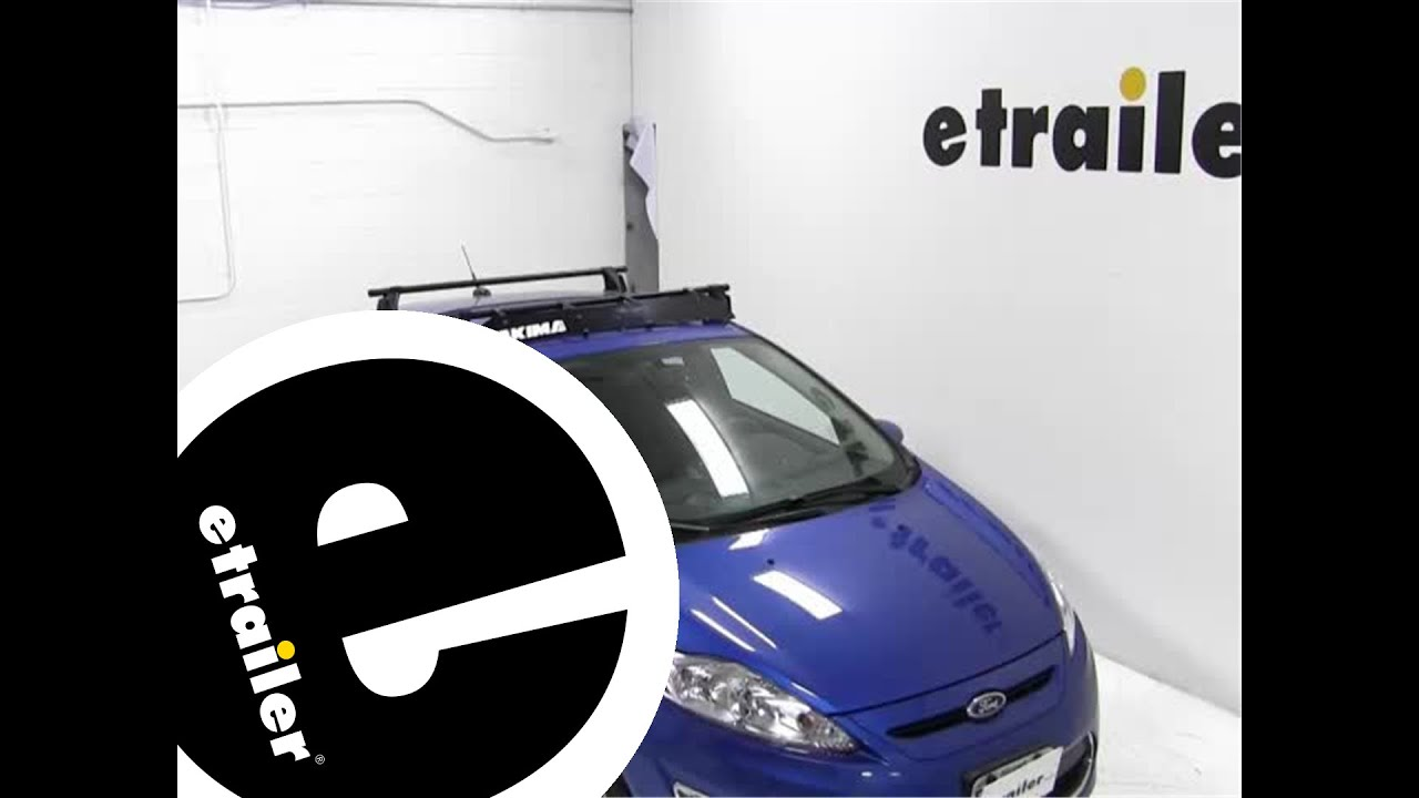 Review Of The Yakima Roof Rack Fairing On A 2011 Ford Fiesta   Etrailer.com