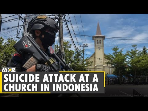 Suicide attack at a church in Indonesia