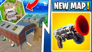 *NEW* Fortnite 5.4 Map Changes! | Getaway Gameplay, Grapple Hook, Update!