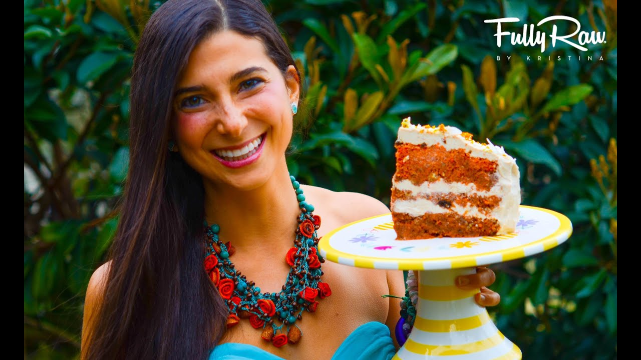 Fullyraw carrot cake for my birthday youtube forumfinder Images