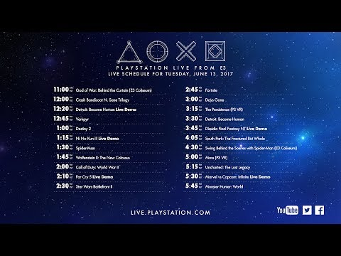 PlayStation® Live From E3 2017 | Day 1