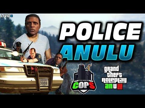 ANULU IN PATTUGLIA CON IL CAPITANO  #WEBCAM  GTA 5 ITA VITA REALE