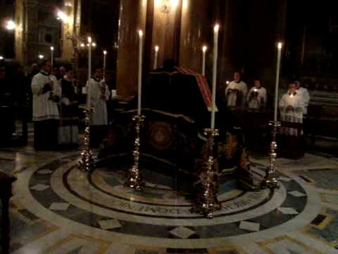 Solemn Requiem Mass in Rome for repose of the soul of Fr. Adrian Ckuj