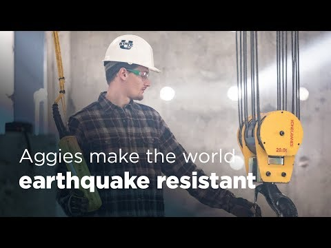 Aggie Impact: Making The World Earthquake Resistant