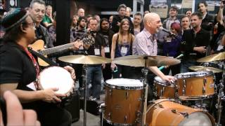 Steve Smith -  Indian Rhythms at NAMM 2015