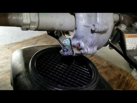 trx300fw rear differential oil capacity