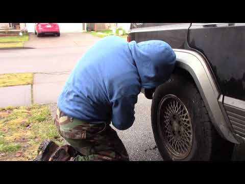 Removal of the Rear Fender Flare Jeep Cherokee