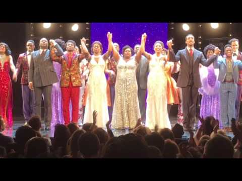 Dreamgirls London Opening Night Curtain Call