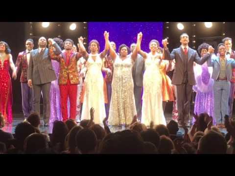 Dreamgirls London Opening Night Curtain Call