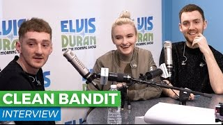 Clean Bandit Chats Collaborating New SingleSymphonyElvis Duran Show