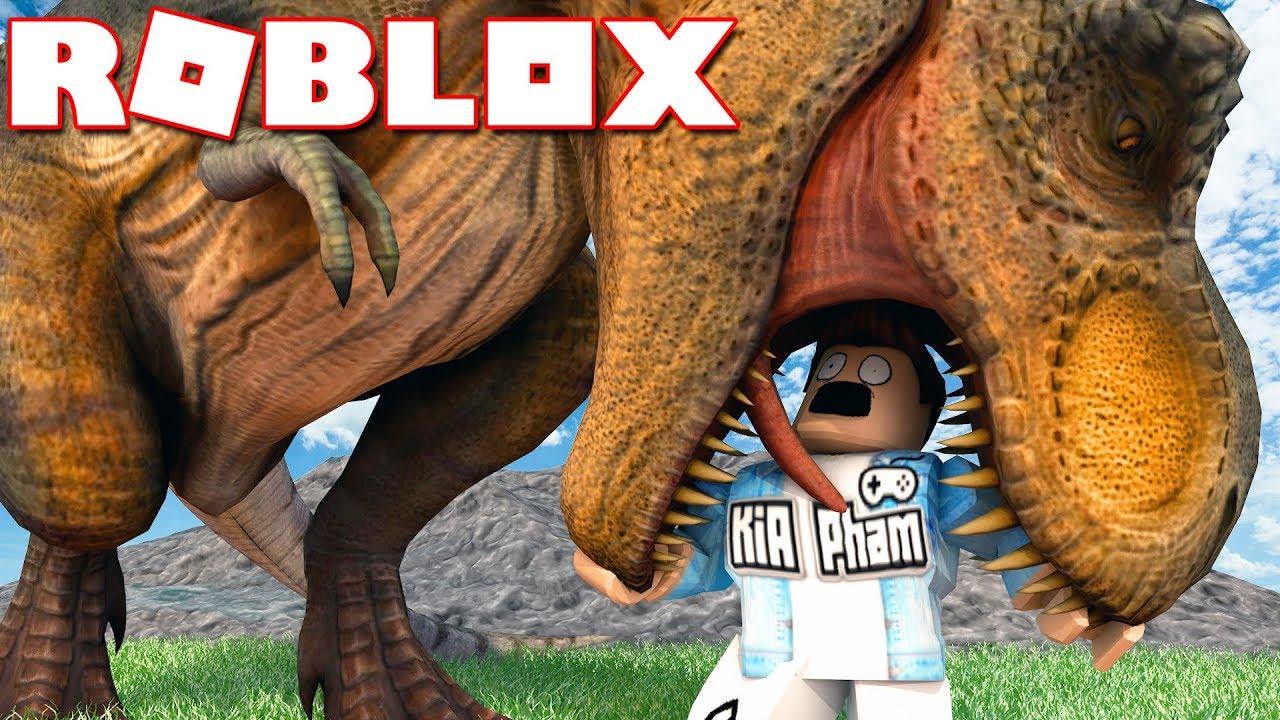 Roblox | KHỦNG LONG BẠO CHÚA RẤT THÍCH ĂN THỊT MÌNH - Dinosaur Hunter | KiA Phạm
