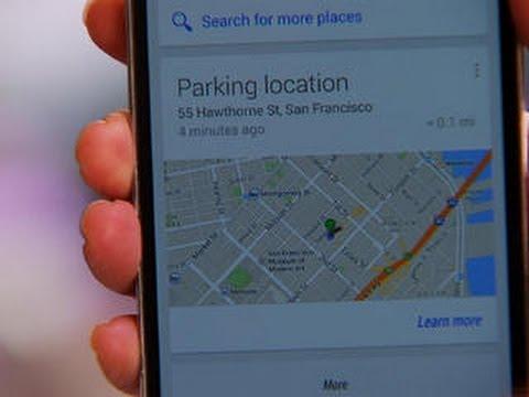 ¿Cómo Google sabe dónde dejaste estacionado el auto?