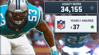 Video Career of a 99 OVERALL Rookie Middle Linebacker (Madden 19 Experiment) download MP3, 3GP, MP4, WEBM, AVI, FLV November 2018