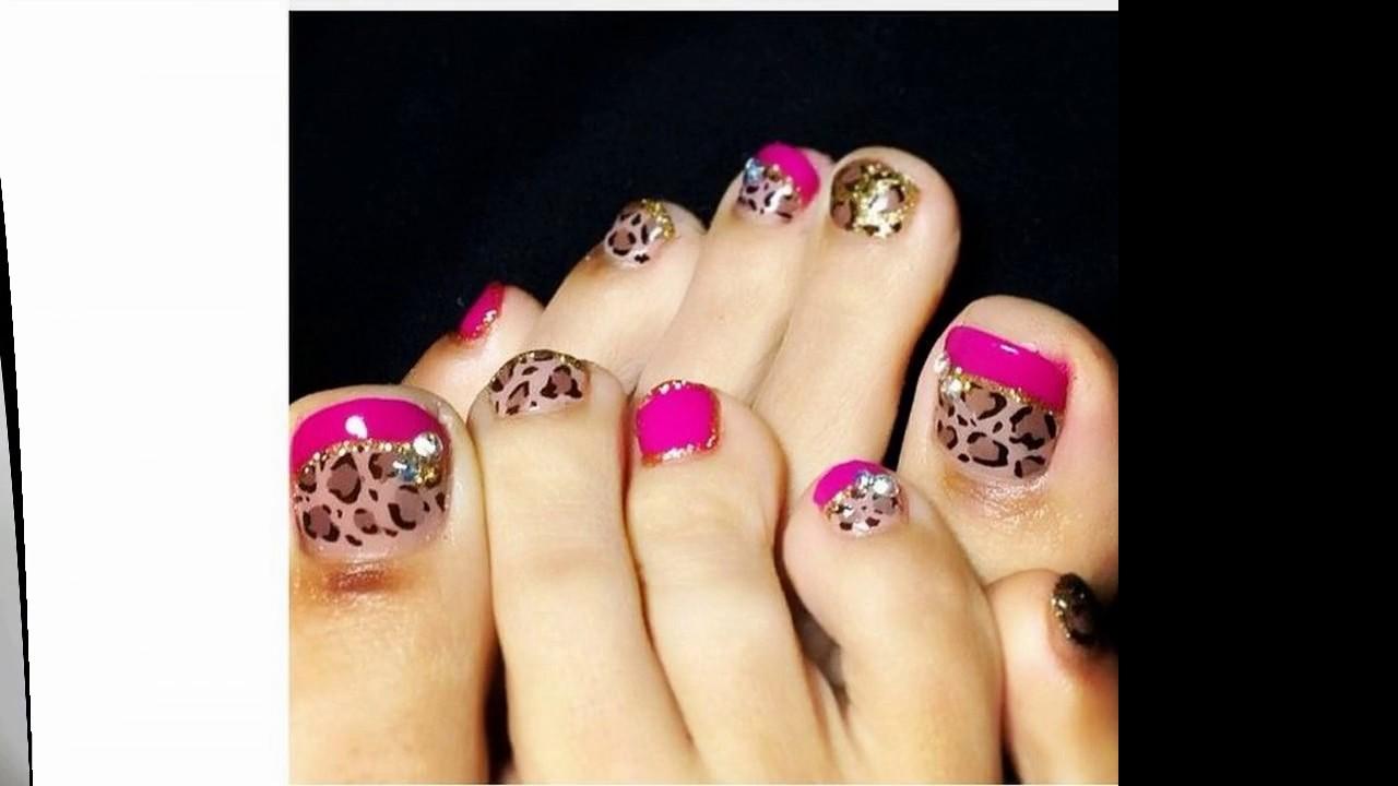 Tendencias de moda Uñas decoradas con flores en pinceladas ...