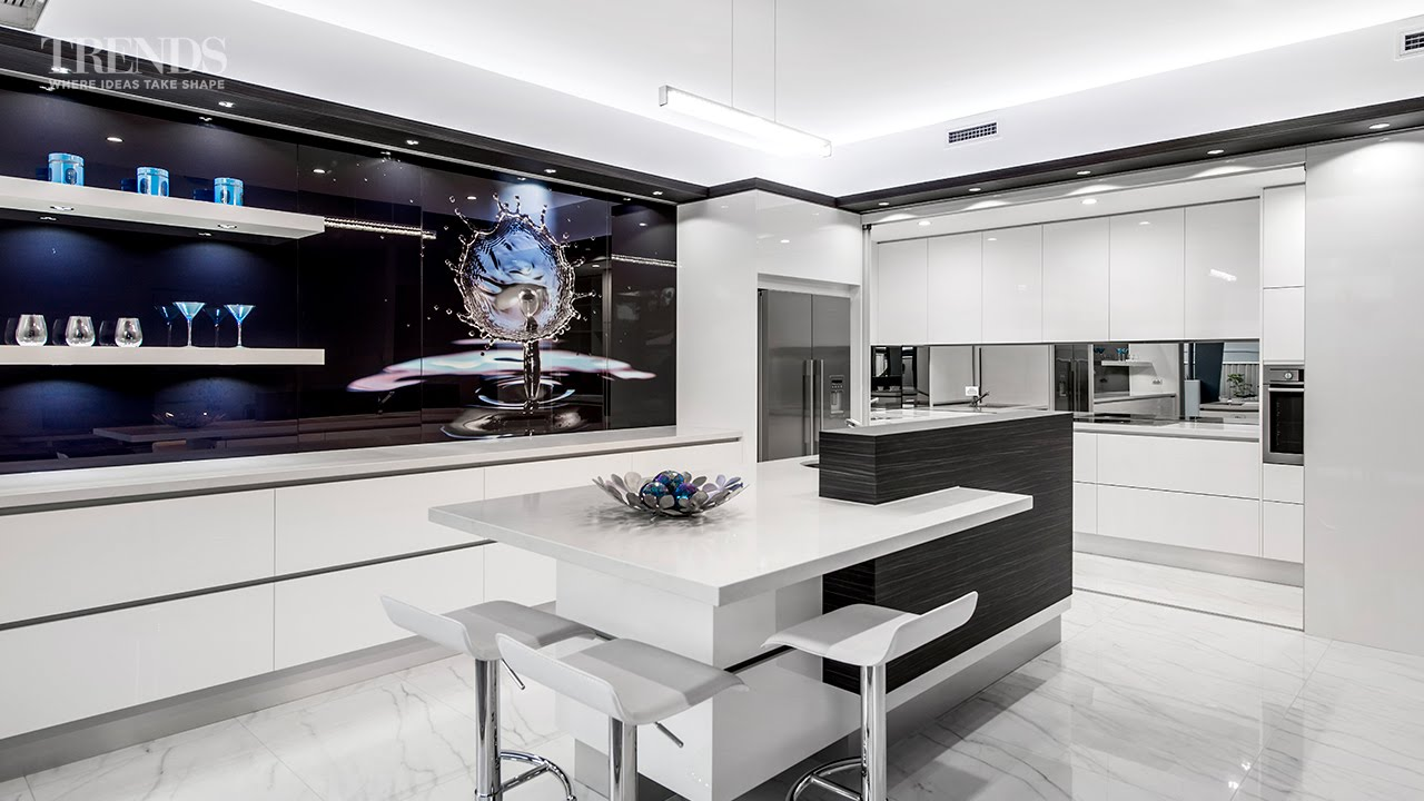 modern kitchen designs with scullery sleek contemporary entertainers kitchen with separate 704