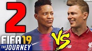 ALEX HUNTER vs DANNY WILLIAMS!! INCONTRO CR7!! - FIFA 19 THE JOURNEY: Campioni #2