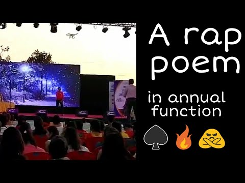 Rape Poem 😎🔥|| By || Aman Yadav || Annual Function || Collage