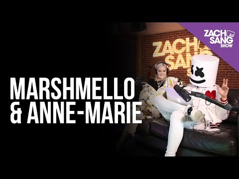 Marshmello & Anne-Marie Talk Friends Ed Sheeran & Lil Peep