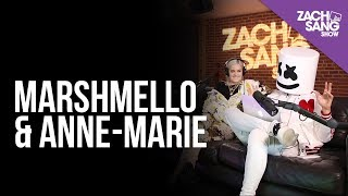 Marshmello & Anne-Marie Talk Friends, Ed Sheeran & Lil Peep