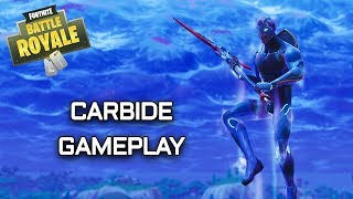 Season 4 Carbide Skin - Fortnite Battle Royale Gameplay