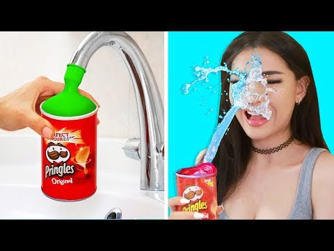 Trying Life Hacks & PRANKS to see if they work - SSSniperWolf