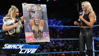Natalya crashes Charlotte's thank you to the WWE Universe: SmackDown LIVE, Sept. 19, 2017 thumbnail