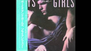 Bryan Ferry - Boys And Girls 1985 Japanese first press vinyl HQ
