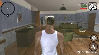 Прохождение GTA SAN ANDREAS на android 2 прикольный дом старые друзья и погоня